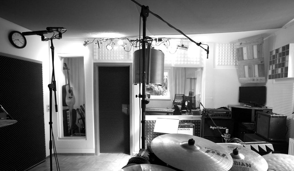 Aufnahmeraum Tonstudio Hannover